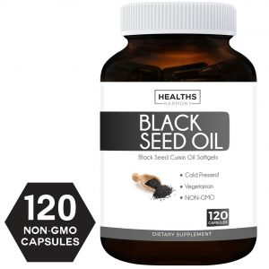 black seed oil 120 soft gel Capsules