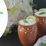 Borhani making at home with yogurt-salted mint lassi