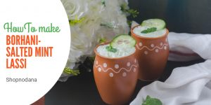 Borhani-salted mint lassi-shopnodana