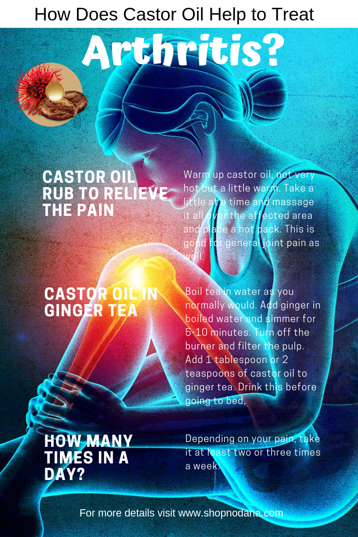 How Does Castor Oil Help to Treat Arthritis_