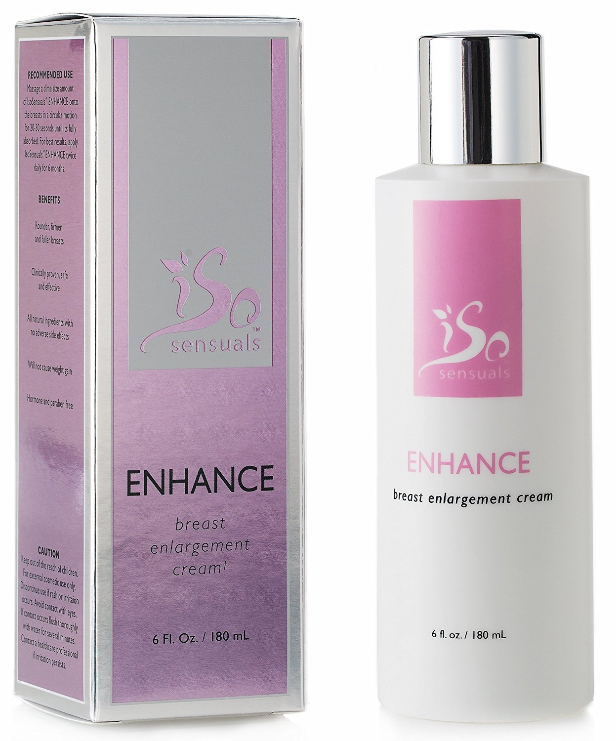 IsoSensuals ENHANCE | Breast Enlargement Cream