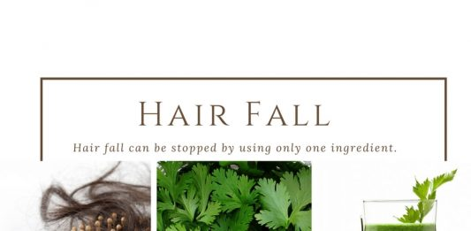 Hair fall can be stopped by using only one ingredient