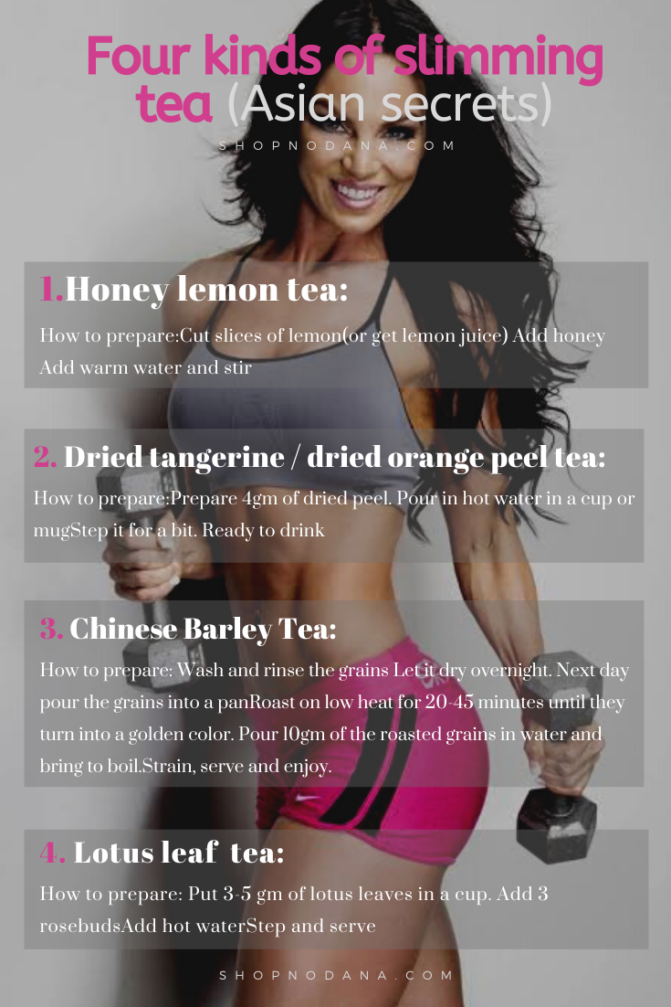Slimming tea-weight loss diet