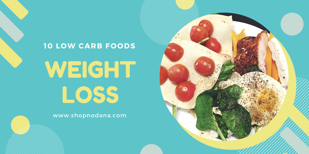 10 low carb foods for weight loss