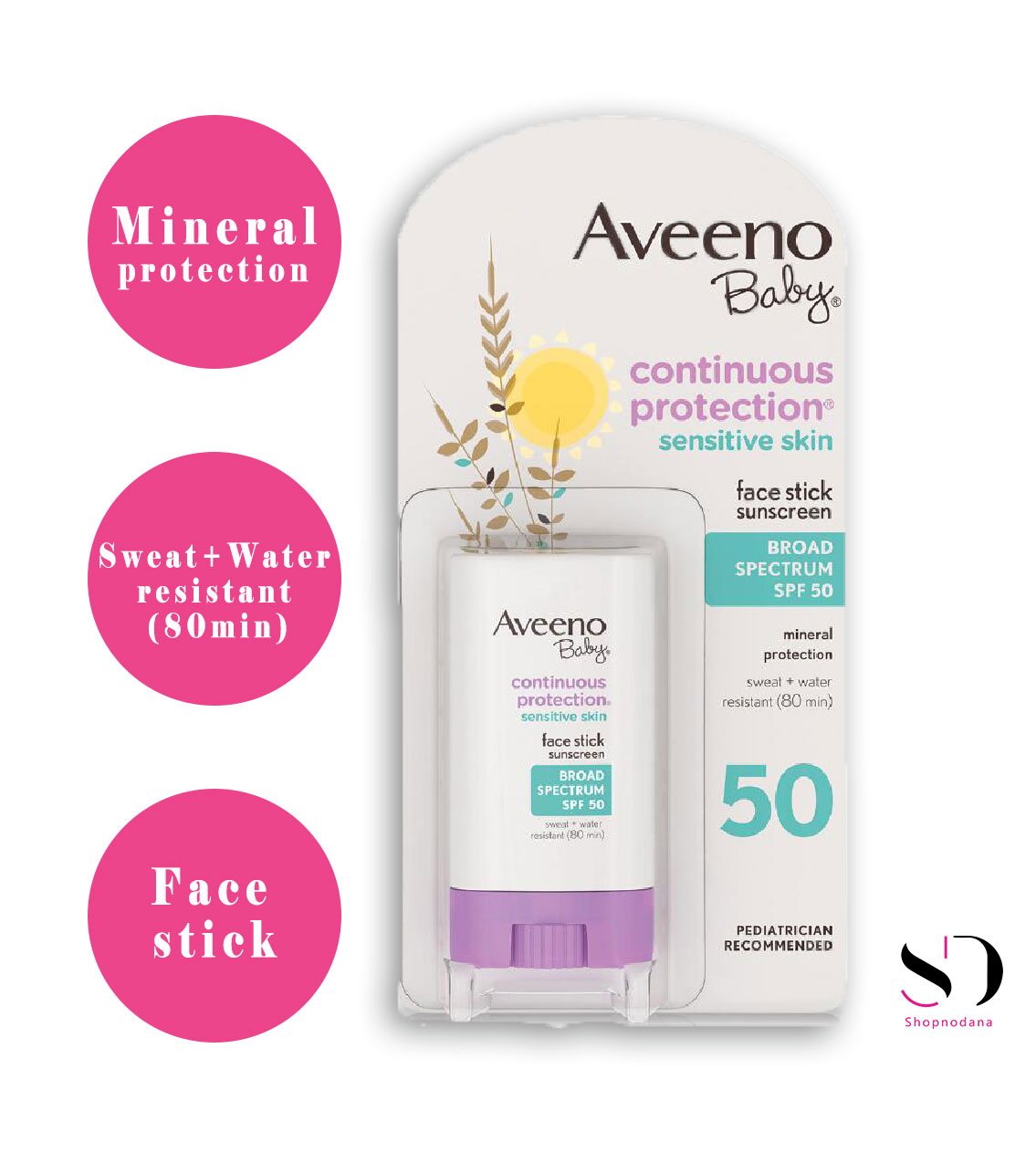 best sunscreen for toddlers- aveeno