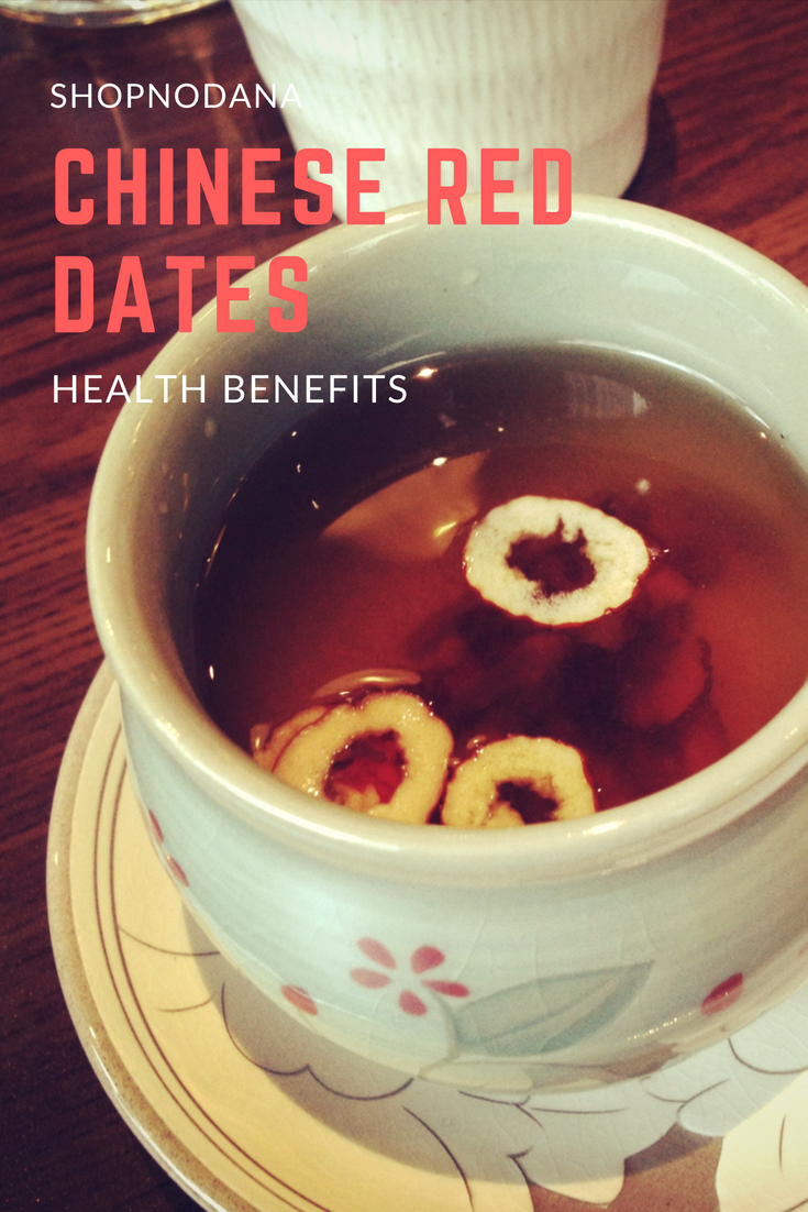 health benefits of chinese red dates or jujube