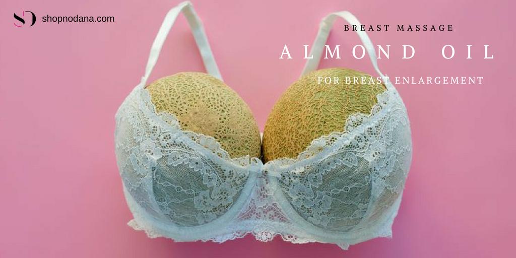 Almond oil for breast enlragement