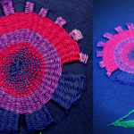 Hand embroidery design tutorial-flower and leaf design