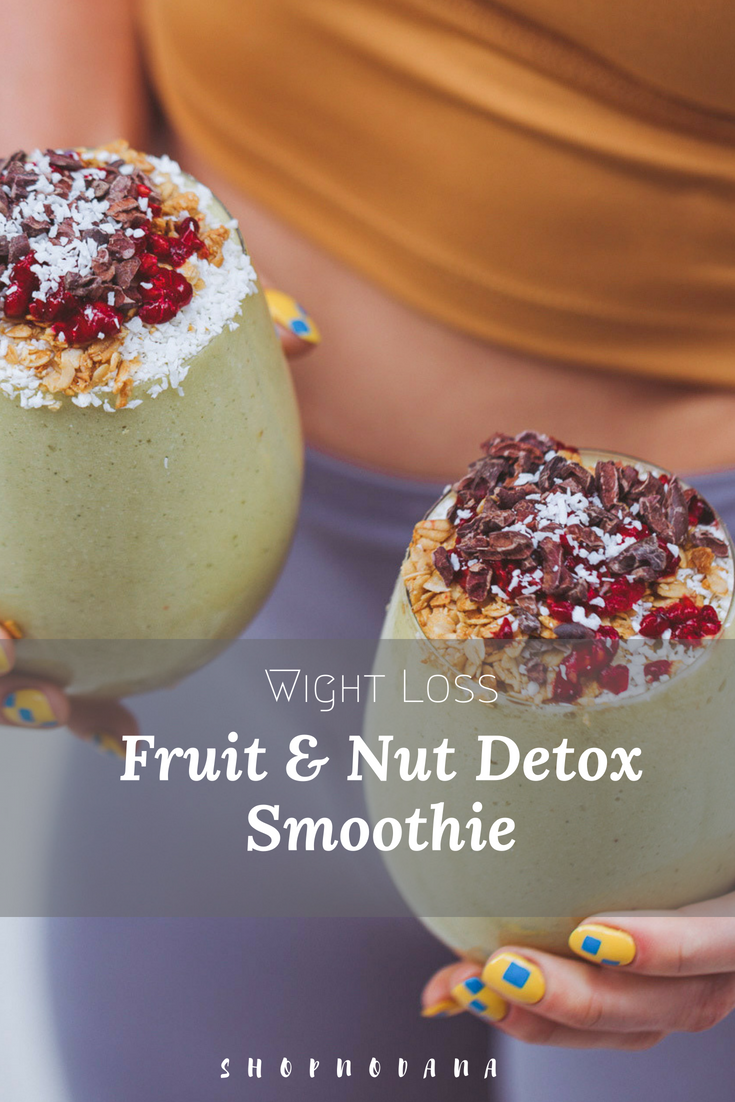 Weight loss smoothies -detox smoothie recipes for weight loss