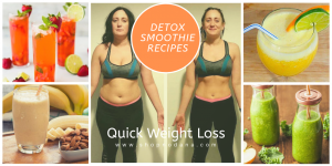 WEIGHT LOSS detox smoothies