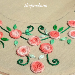 Hand embroidery design  for your dress neck