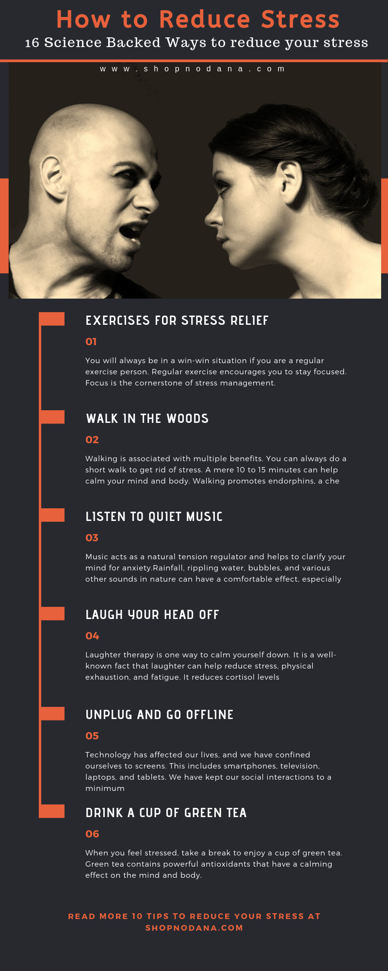How to reduce stress- 16 Science Backed Ways to reduce your stress
