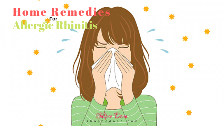 Home remedies for Allergic Rhinitis