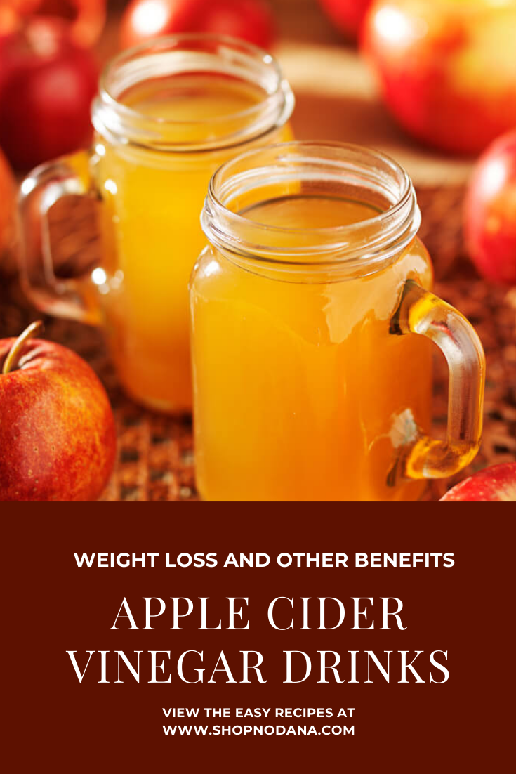 Apple cider vinegar for weight loss-Apple Cider vinegar drinks
