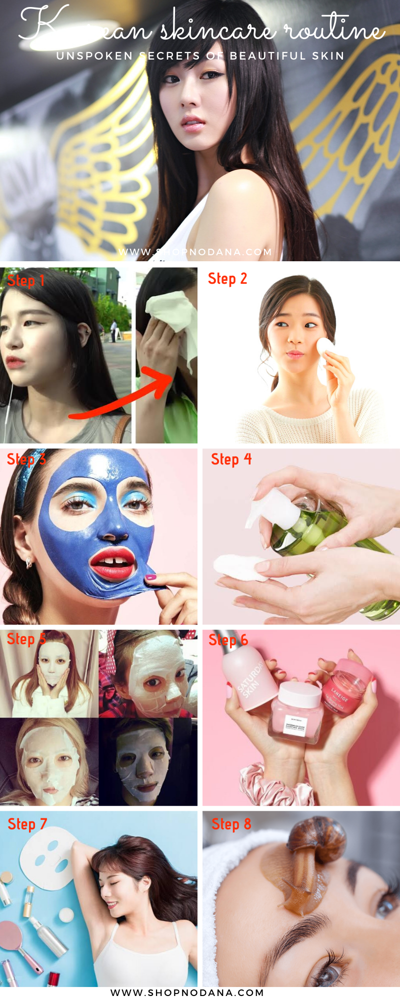 Korean skin care routine unspoken secrets of Beautiful Skin