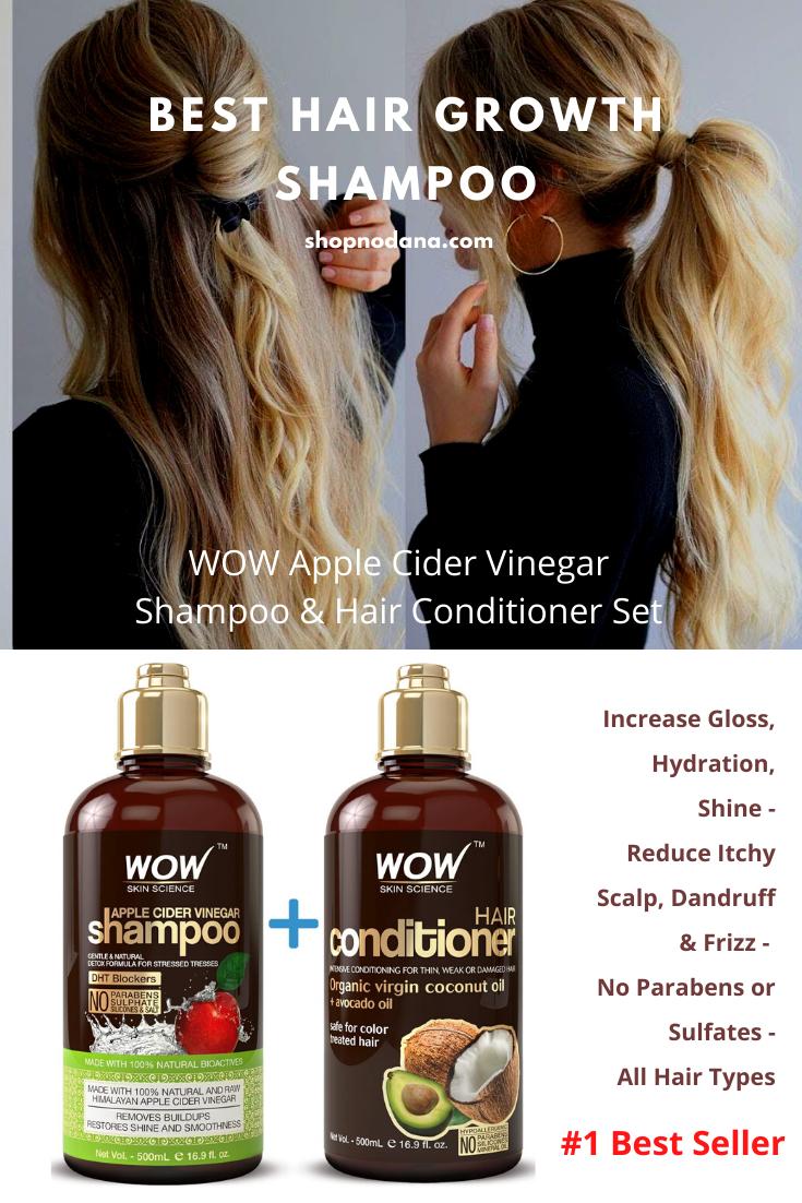 WOW Apple Cider Vinegar Shampoo & Hair Conditioner Set