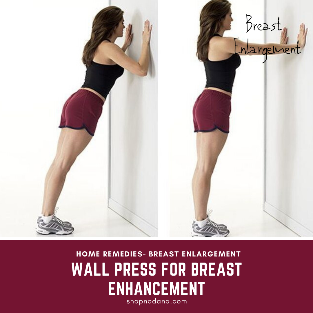 Wall Press for breast enhancement
