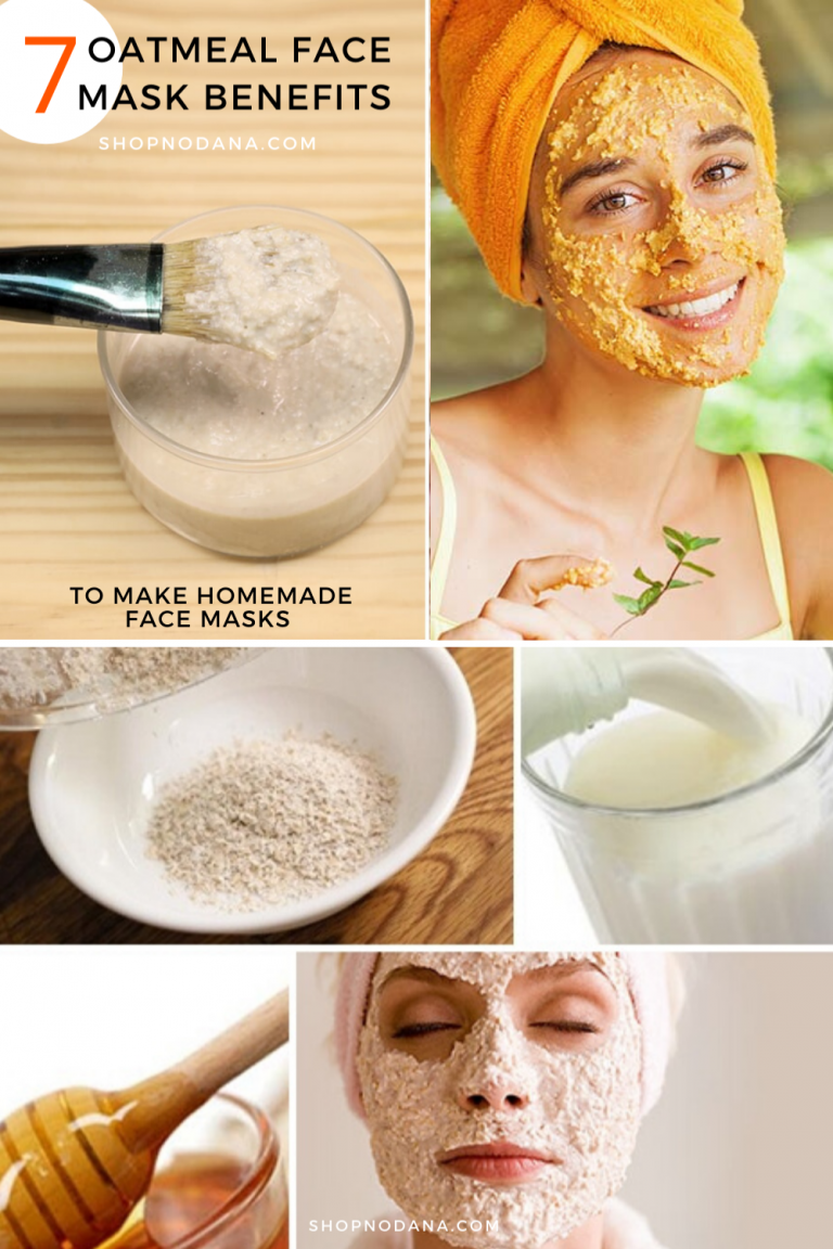 Oatmeal Face Mask Benefits- How To Make Homemade Face Masks