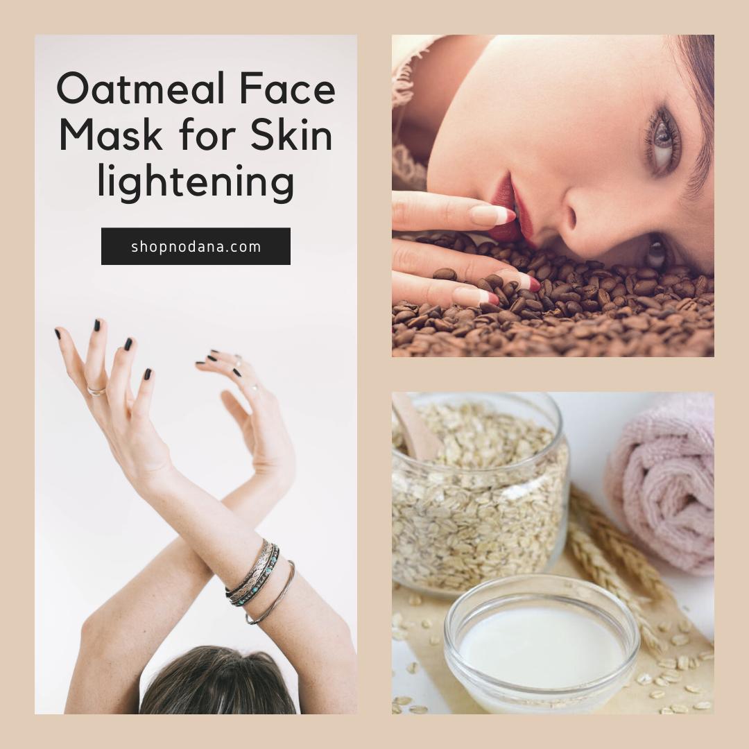 Oatmeal Face Mask forSkin lightening