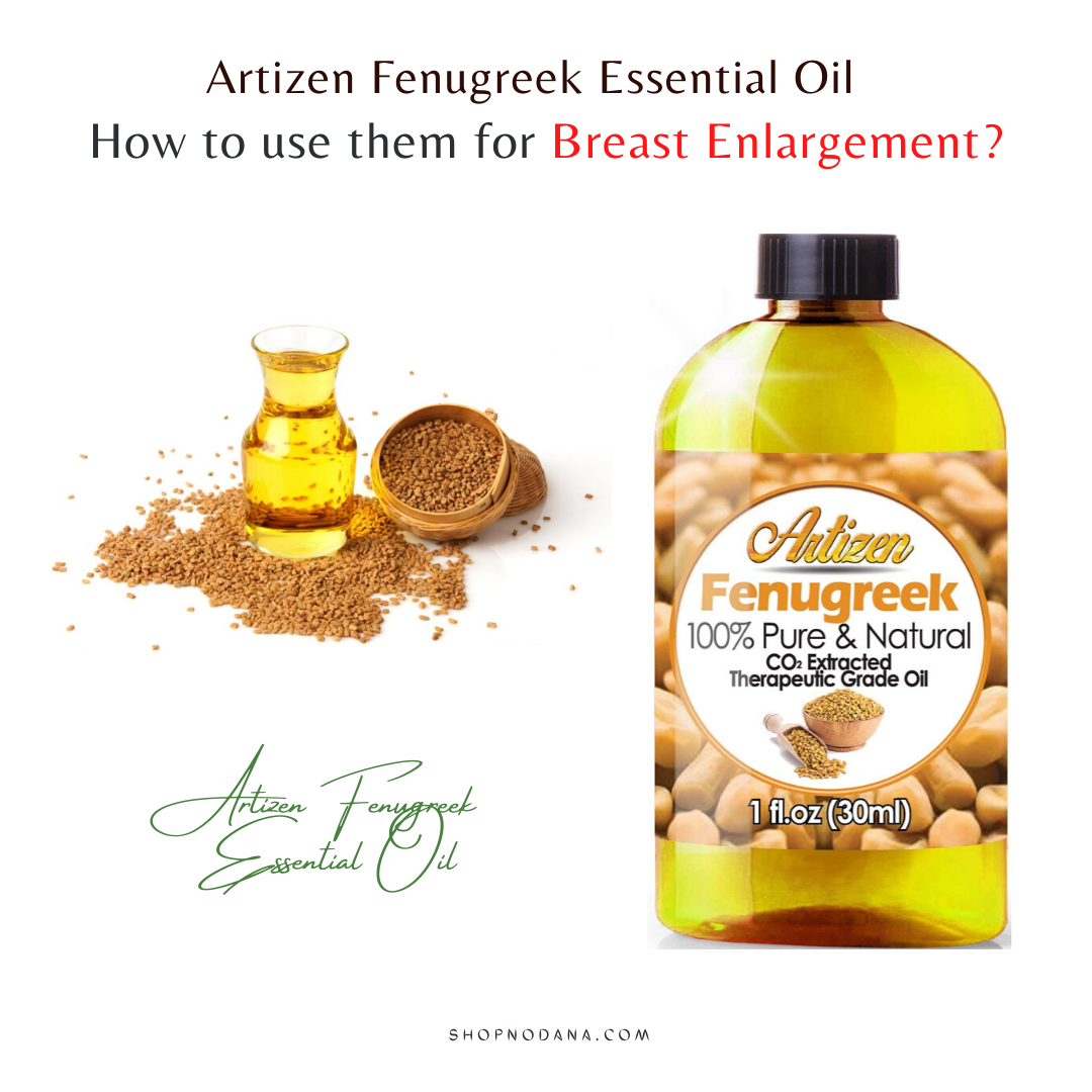 Artizen Fenugreek Essential Oil for breast enlargement