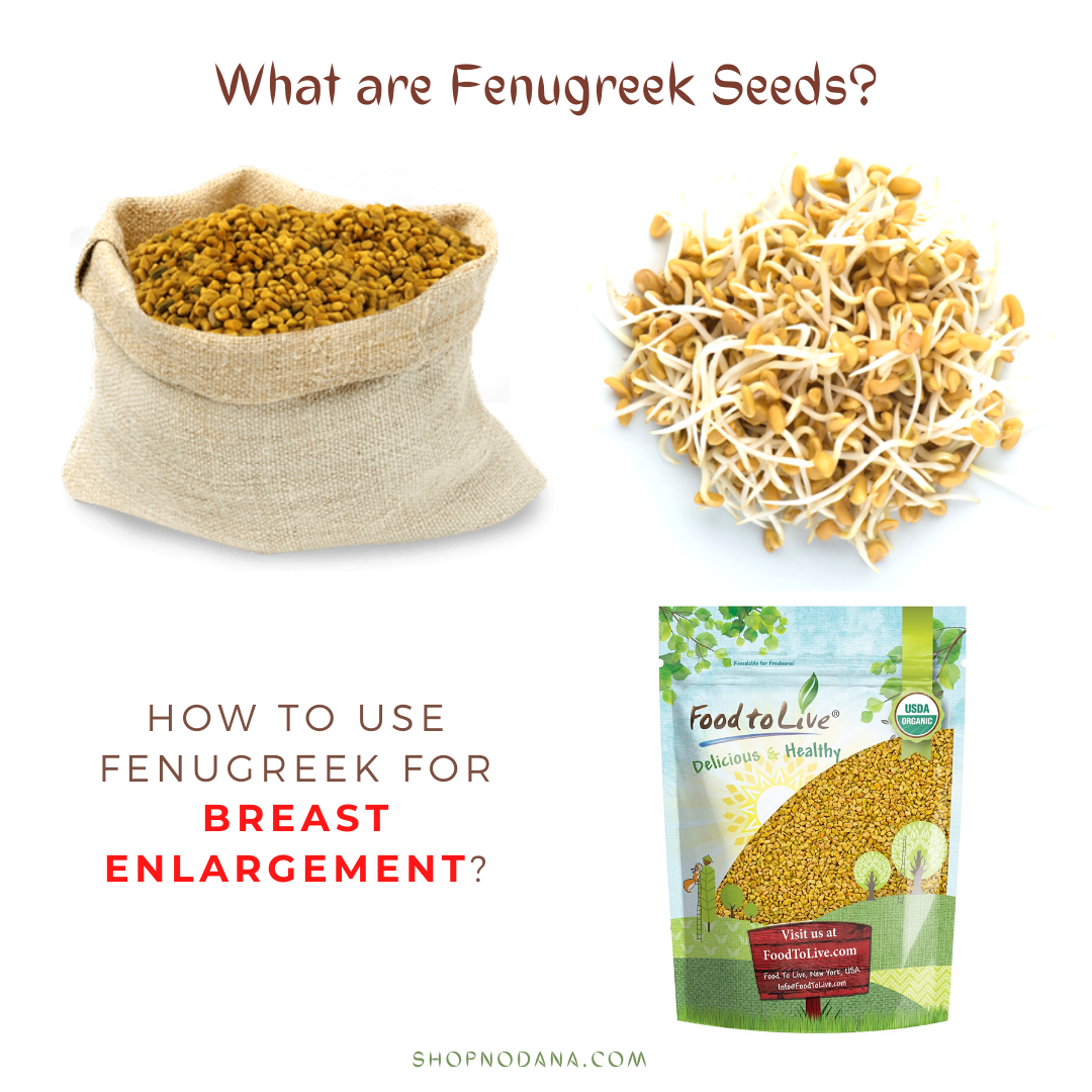Fenugreek For Breast Enlargement- How To Use Fenugreek Seeds