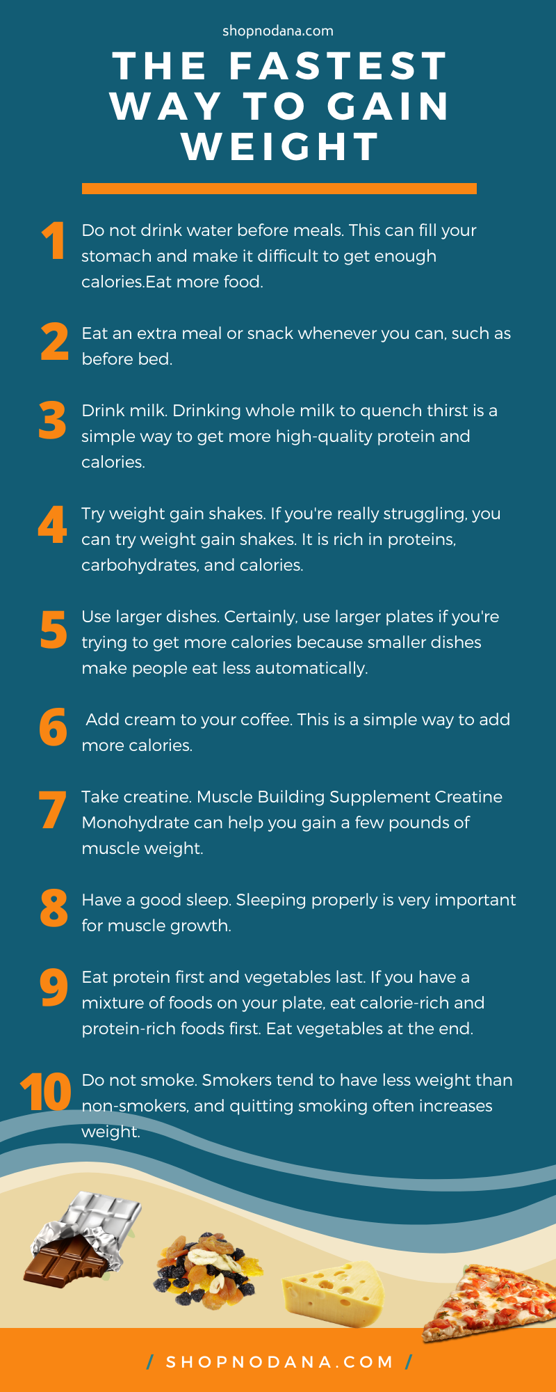 The fastest way to gain weight