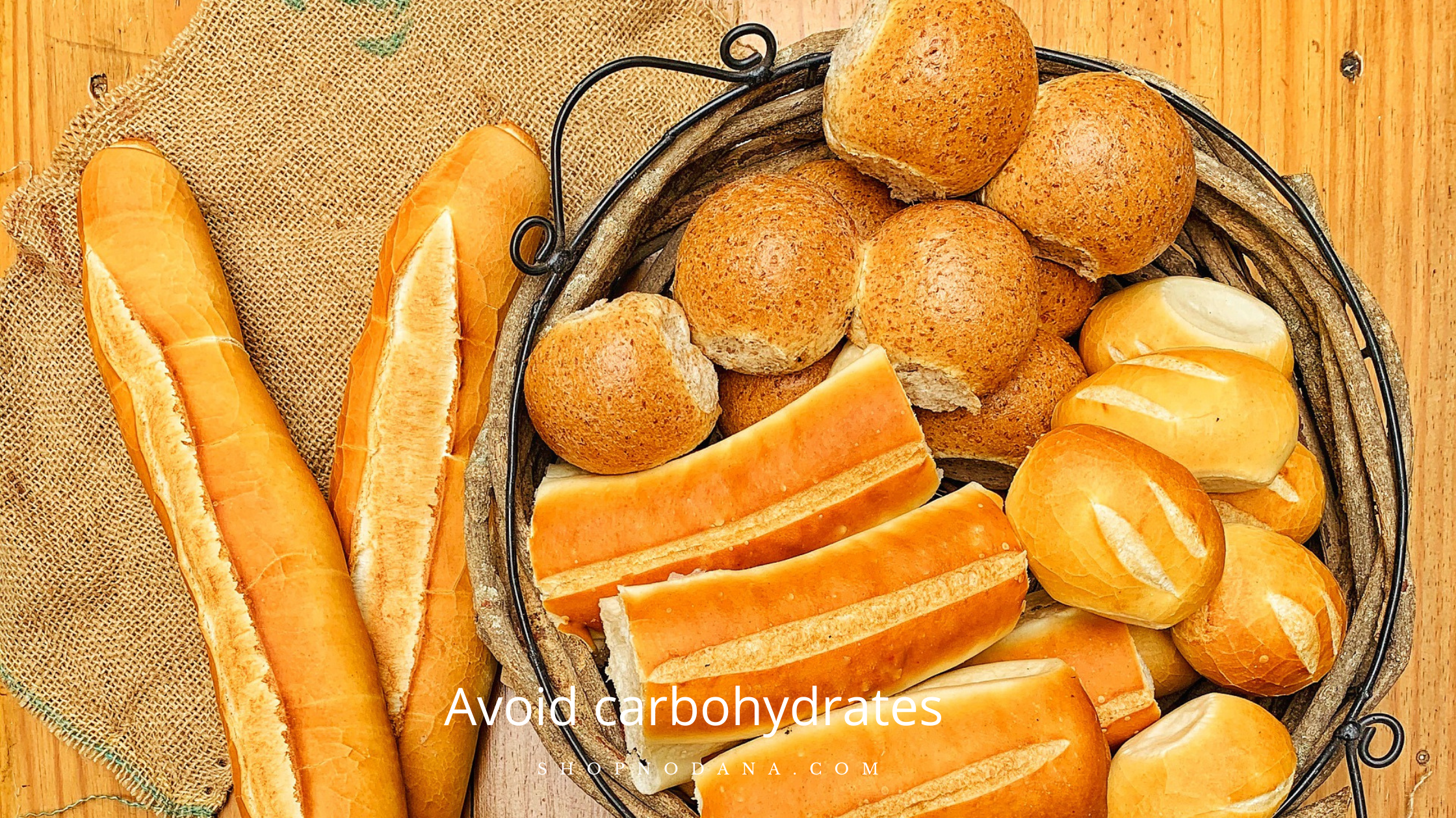 Avoid carbohydrates to lose lower belly fat