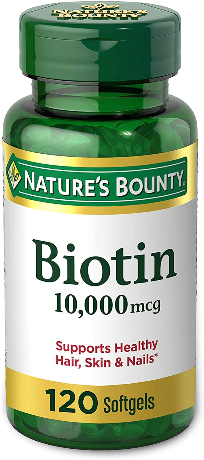Biotin by natures bounty-How to Grow Nails Fast