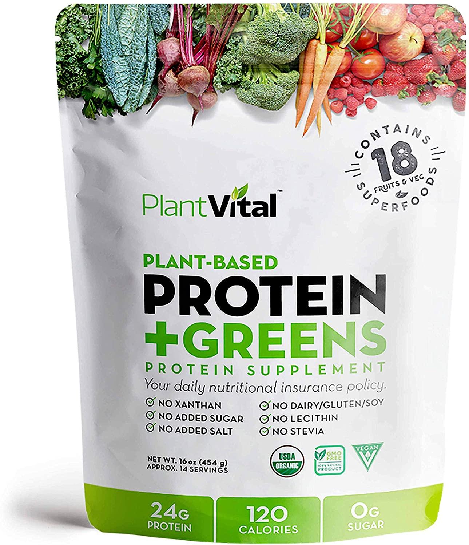 Benefits of spirulina- Plantvital Plant based protein
